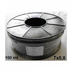 DİĞER - SULAMA KABLOSU 7x0,8 mm BİR MAKARA ( 100 Mt )