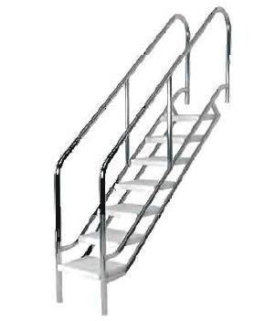 ASTRAL - Havuz Merdiveni 6 Basamaklı Astral Eğik Terapi Merdiveni