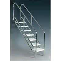 ASTRAL - Havuz Merdiveni 8 Basamaklı Astral Eğik Terapi Merdiveni