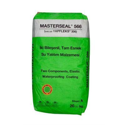 BASF - Basf Mastertile WP 666 (Yapfleks 306) 20 Kg, Havuz İzolasyon Malzemesi
