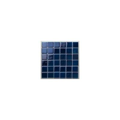 MOZAİX - Havuz Cam Mozaik Kaplama, Cam Mozaik A-155 Artıstıc Seri 25X25 Mm File Montaj