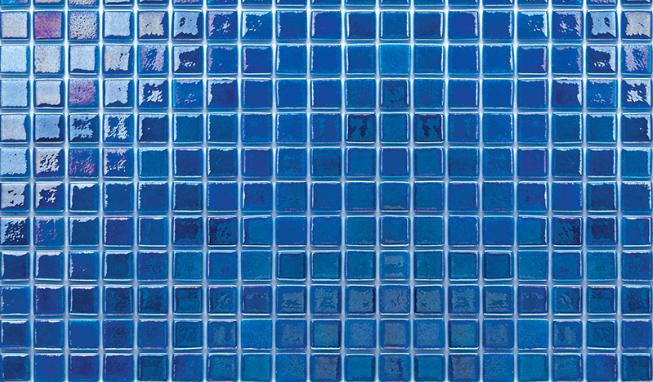 MOZAİX - Havuz Cam Mozaik Kaplama, Cam Mozaik A-155 Artistic Seri 50X50 Mm File Montaj