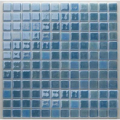 MOZAİX - Havuz Cam Mozaik Kaplama, Cam Mozaik A-159 Artistic Seri 25X25 Mm File Montaj