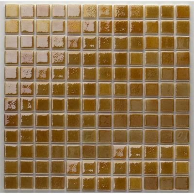 MOZAİX - Havuz Cam Mozaik Kaplama, Cam Mozaik A-173 Artistic Seri 25X25 Mm File Montaj
