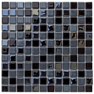 MOZAİX - Havuz Cam Mozaik Kaplama, Cam Mozaik A-228 Mix Kombinasyon Seri 25X25 Mm File Montaj