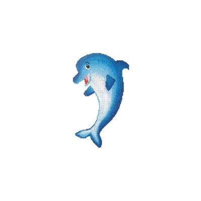 WATERFUN - Cam Mozaik Delfin Desen 2,08X3,52 M, Havuz Cam Mozaik Kaplama