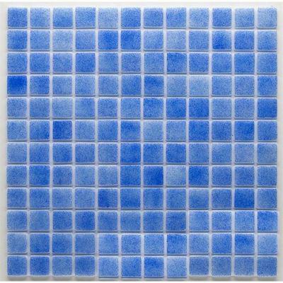MOZAİX - Havuz Cam Mozaik Kaplama, Cam Mozaik F-02 Okyanus Seri 25X25 Mm Kağıt Montaj