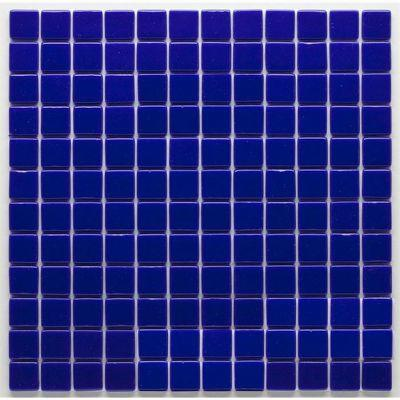 MOZAİX - Havuz Cam Mozaik Kaplama, Cam Mozaik G-Kobalt Granada Seri 25X25 Mm File Montaj