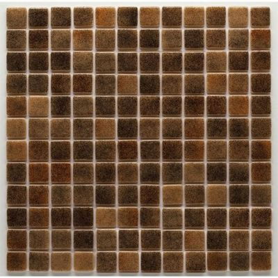 MOZAİX - Havuz Cam Mozaik Kaplama, Cam Mozaik R-16 Raınbow Seri 25X25Mm File Montaj