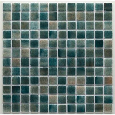 MOZAİX - Havuz Cam Mozaik Kaplama, Cam Mozaik Rm-47 Rainbow Seri 25X25 Mm File Montaj