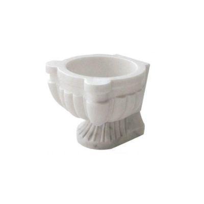 POOLLINE - Mermer Hamam Kurnası 45*45*35 cm Poolline CDM-102