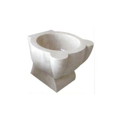 POOLLINE - Mermer Hamam Kurnası 45*45*35 cm Poolline CDM-104