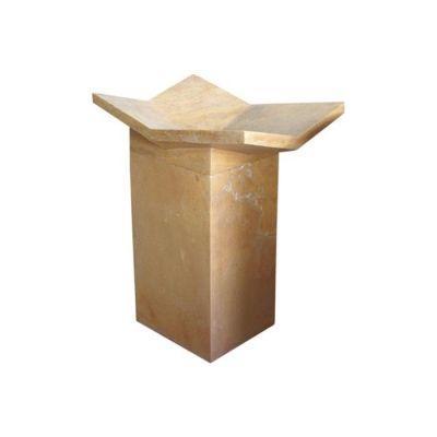 POOLLINE - Mermer Lavabo 50*50*90 cm Poolline CDM-70
