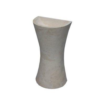 POOLLINE - Mermer Lavabo 40*30*90 cm Poolline CDM-72