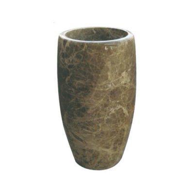 POOLLINE - Mermer Lavabo 50*85 cm Poolline CDM-88