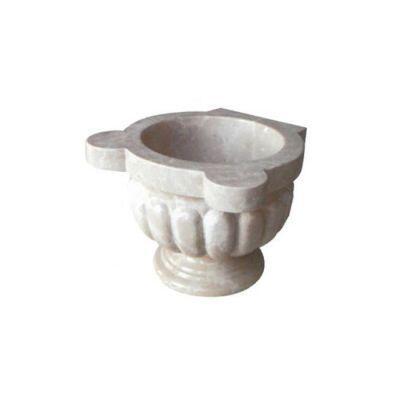 POOLLINE - Mermer Hamam Kurnası 45*45*35 cm Poolline CDM-99