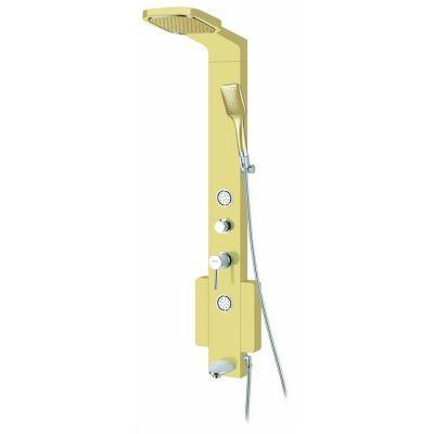 POOLLINE - Duş Paneli Jetli Ve Bataryalı Sarı