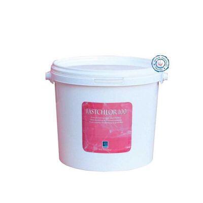 GEMAŞ - Havuz Kimyasalı Fastchlor 100 Stabilize Triklor Granülü %90 Toz Klor 10 Kg, Havuz İlacı