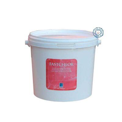 GEMAŞ - Havuz Kimyasalı Fastchlor Stabilize Diklor Granülü %56 Toz Klor 15 Kg, Havuz İlacı