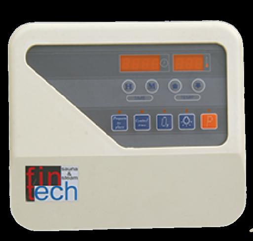 FINTECH - Sauna Sobaları İçin Dijital Kumanda Panosu Fintech 10,5-15 Kw