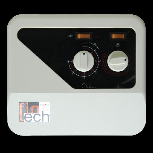 FINTECH - Sauna Sobaları İçin Manuel Kumanda Panosu Fintech 10,5-15 Kw