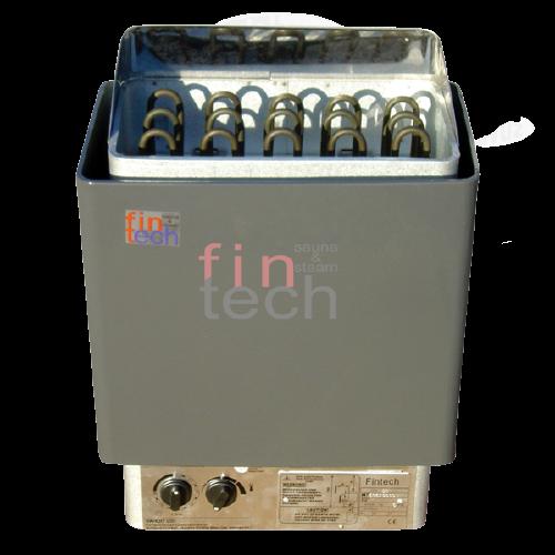 FINTECH - Sauna Sobası Fıntech Ftn-45 4,5 Kw Üzerinden Kumandalı Gri3-6 M³