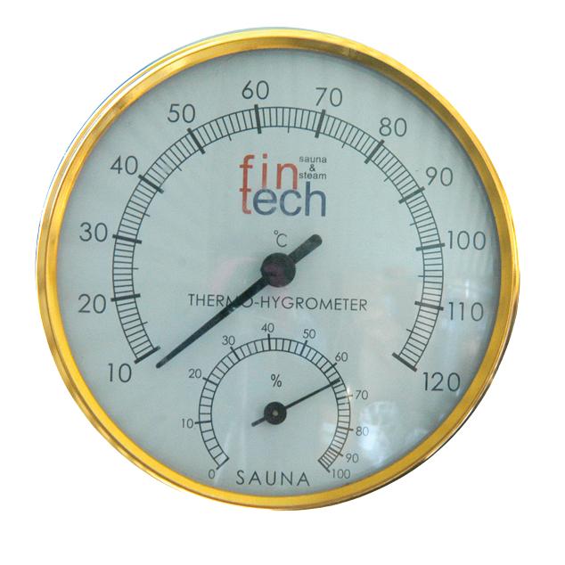 FINTECH - Sauna Hıgrometre Termometre Kombine Fintech