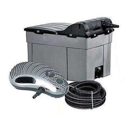 HEISSNER - Süs Havuzu ve Gölet Filtre Seti Fpu 16 (Pompa+Filtre+Uv Cihazı+Hortum)