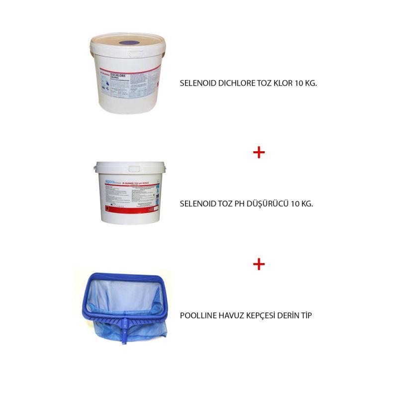 Havuz Kimyasal Paketi 1, Havuz Bakım Paketi