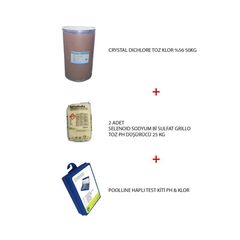 - Havuz Kimyasal Paketi 4, Havuz Bakım Paketi