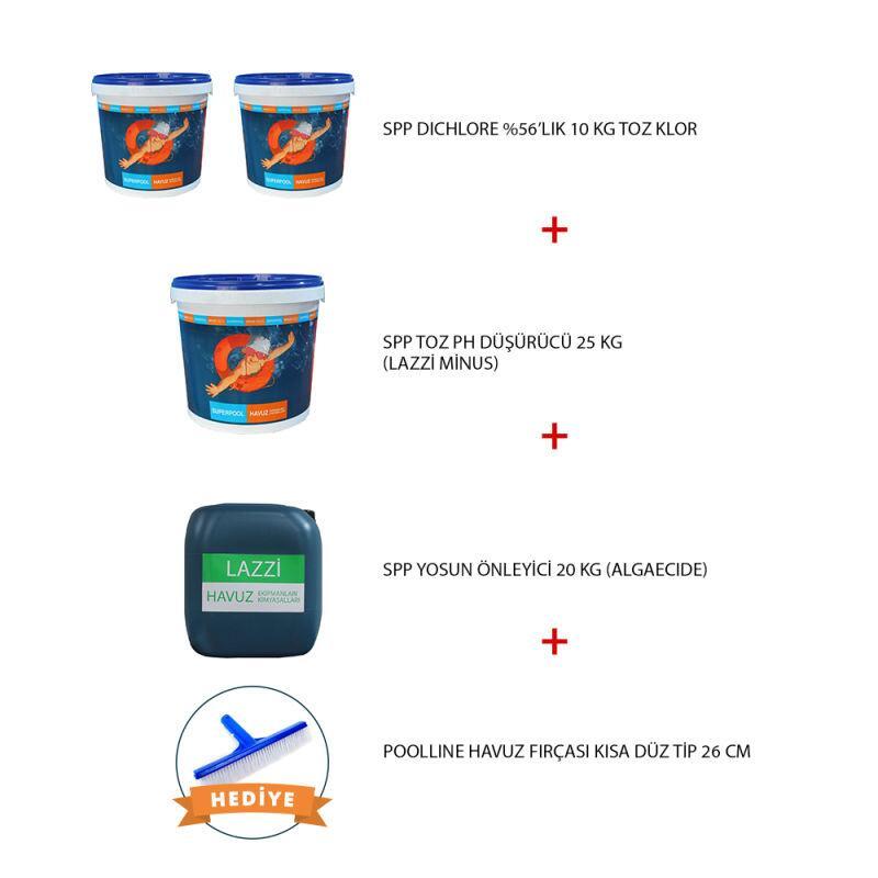 - Havuz Kimyasal Paketi 6, Havuz Bakım Paketi