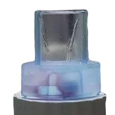 POOLLINE - Süs Havuzu İç Mekan Çeşmesi Cam Silindir 30X30X26 Cm