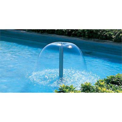 POOLLINE - Süs Havuzu Fıskiyesi Krom Su Çanı 60-10T 1''