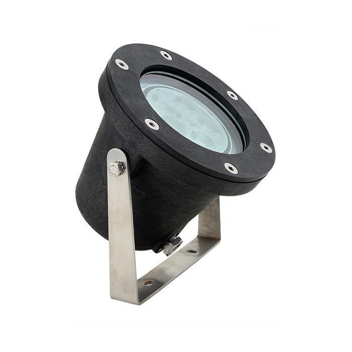 POOLLINE - Süs Havuzu ve Gölet Su Altı Lambası Luna Light N152 – 124X 10W – 24VDC 590 LM RGB