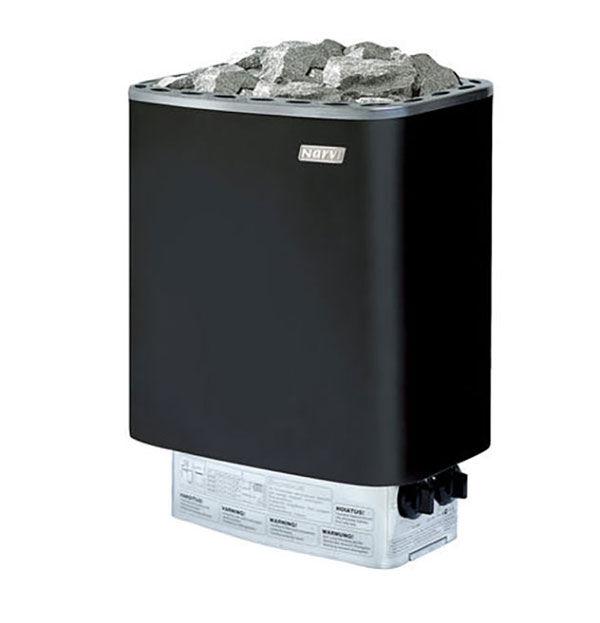 NARVİ - Sauna Sobası Narvi Nm 9 Kw Üzerinden Kumandalı Paslanmaz Siyah 9-15 M³