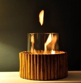 POOLLINE - Poolline Bamboo Bio Ethanol Spa Şöminesi