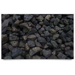POOLLINE - POOLLINE BLACK LAVA CHIPPING DEKORATİF TAŞ 0-3 MM