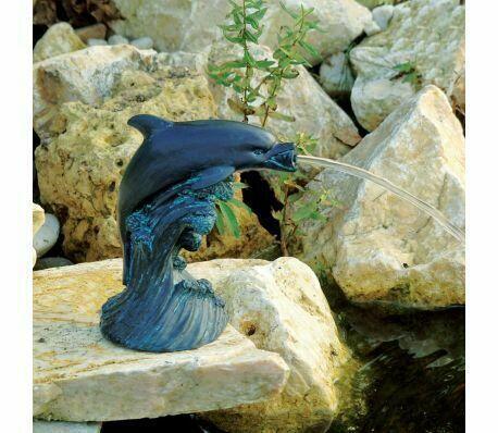 Poolline Dolphin Dekoratif Figürlü Süs Havuzu Fıskiyesi