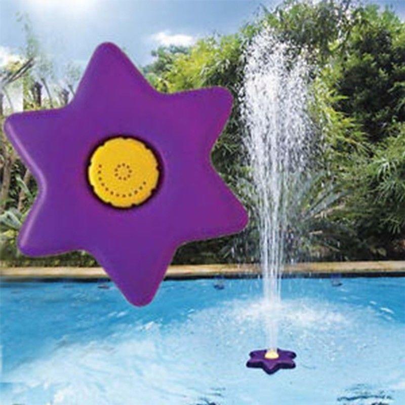 Poolline Flora Havuz Üzeri Yüzen Çiçek Fıskıye Seti
