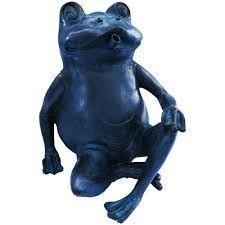 POOLLINE - Poolline Happy Frog Dekoratif Figürlü Süs Havuzu Fıskiyesi