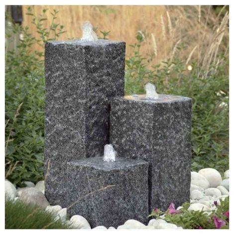 POOLLINE - Poolline Inka 3'lü Granit Süs Havuzu Seti