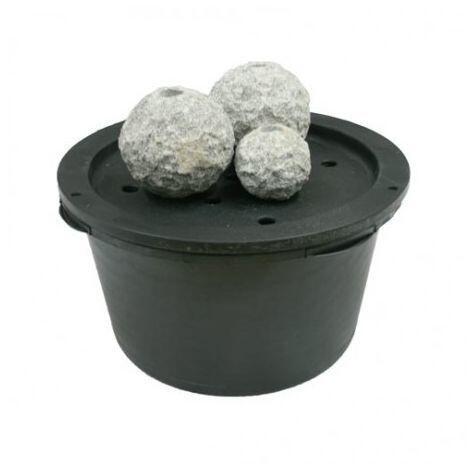 POOLLINE - Poolline Petros 3'lü Granit Süs Havuzu Seti