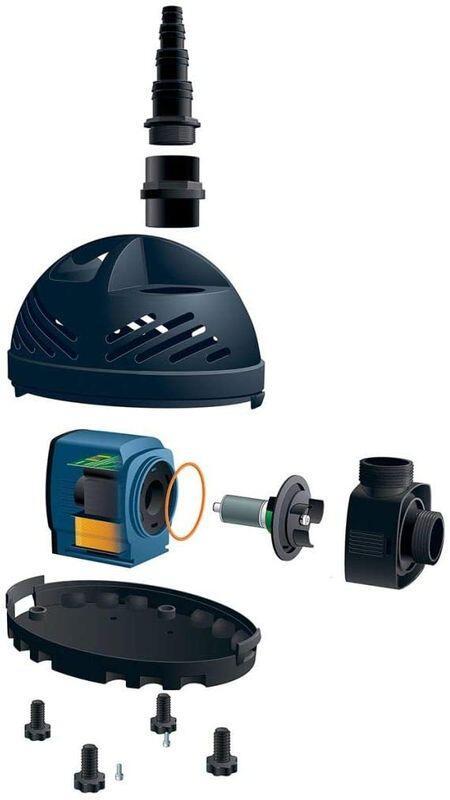 Poolline Power Max 16000 Gölet Ve Süs Havuzu Pompası