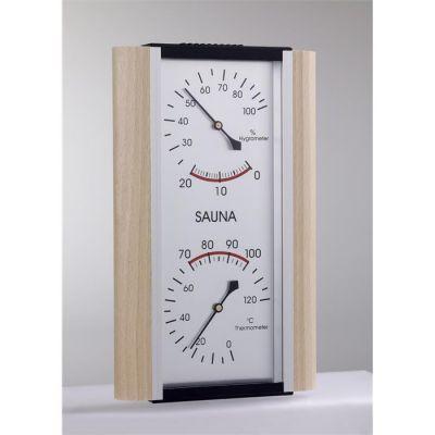 POOLLINE - Poolline Sauna Higrometre-Termometre Kombine