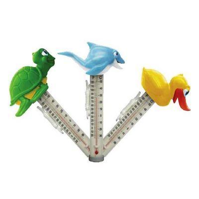 POOLLINE - Poolline Yüzer Tip Happy Zoo Termometre, Havuz Derecesi