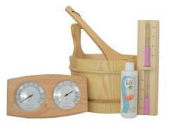 POOLLINE - Sauna Aksesuarları Paketi Maxi Set