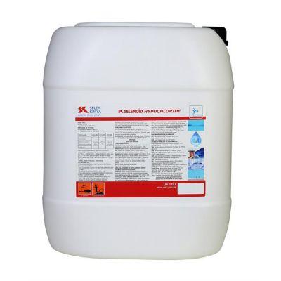 SELENOID - Havuz Kimyasalı Selenoid Hyochloride Sıvı Klor 25 Kg., Havuz Sıvı Klor Dezenfektan