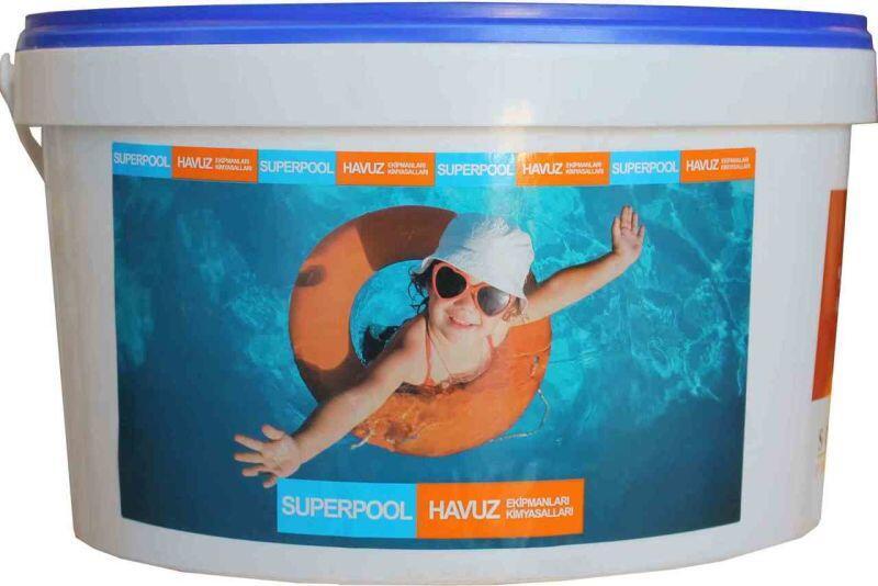 SPP - Havuz Kimyasalı Spp Multi Tablet 5 Kg, Havuz Çok Amaçlı Tablet Klor