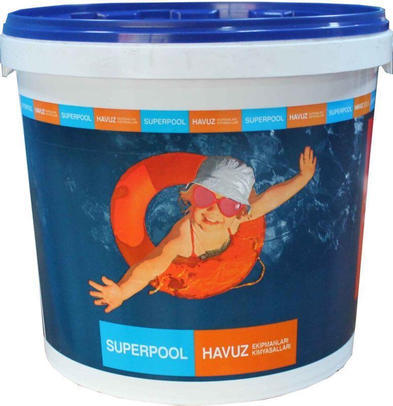 SPP - Havuz Kimyasalı Spp Trichlore %90 Lık 10 Kg Tablet Klor, Havuz Tablet Klor