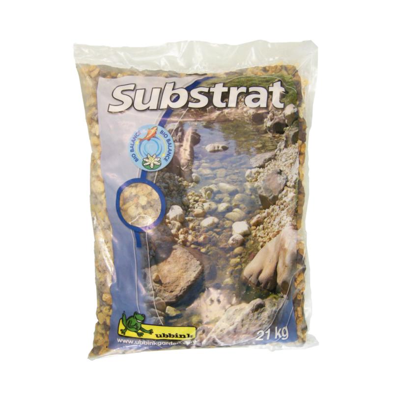 POOLLINE - Süs Havuzu ve Göletler İçin Doğal Filtre Substrat 21 Kg (Filtre Malzemesi )